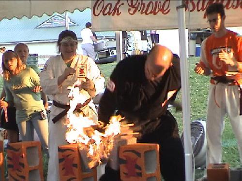 Mike - FarmFair2008 Fire Concrete Break